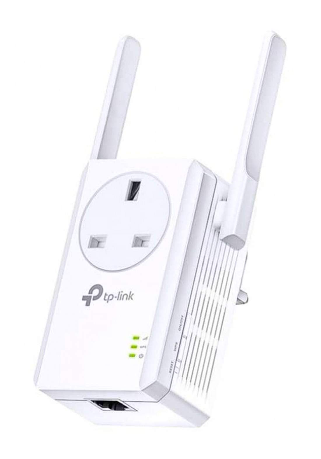 TP-LINK TL-WA860 300Mbps Wi-Fi Range Extender with AC Passthrough -White