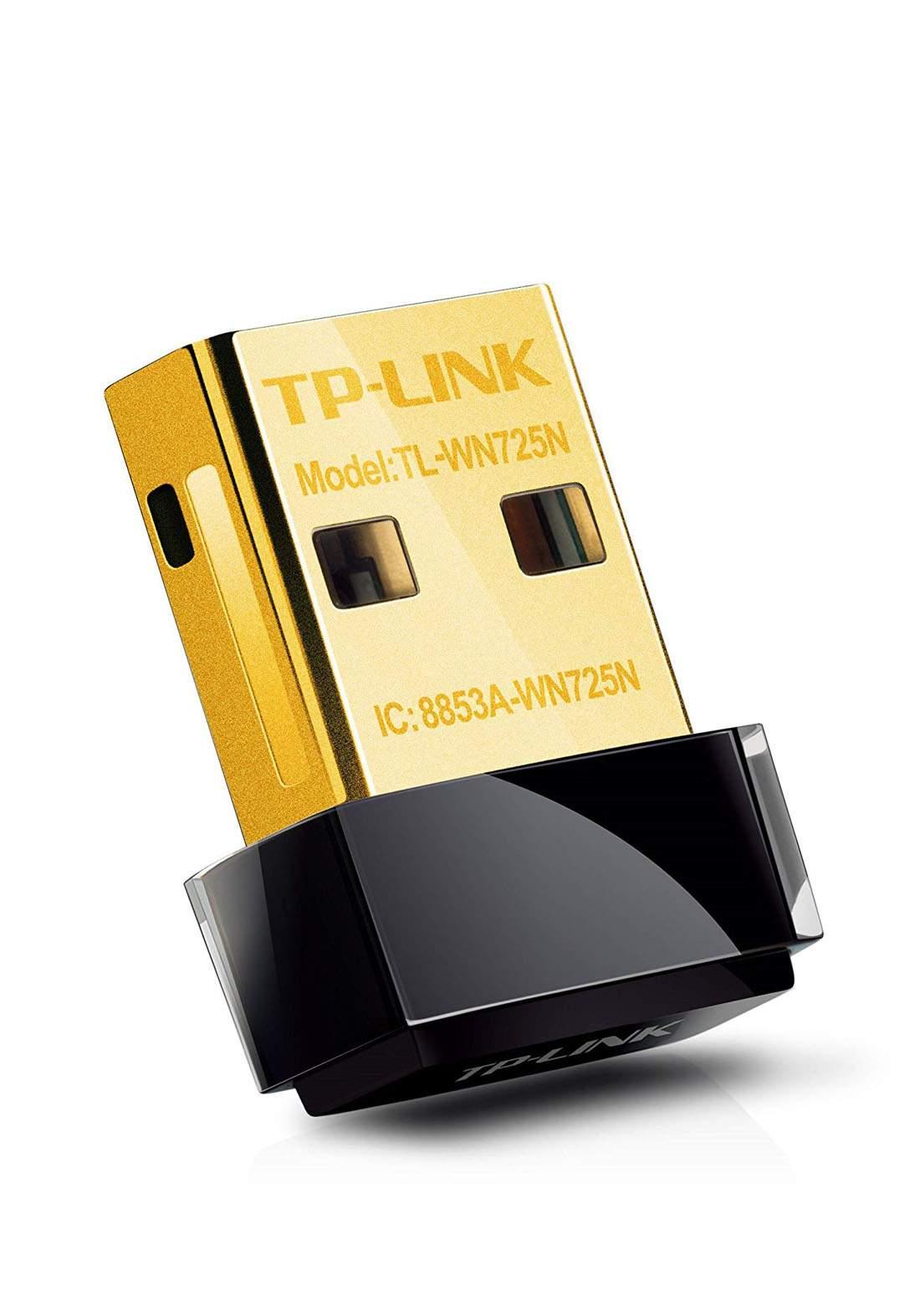 TP-Link TL-WN725N 150Mbps Wireless N Nano USB Adapter - Black