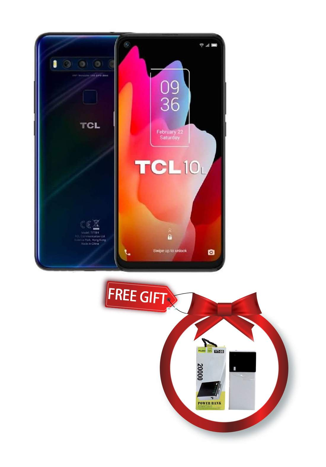TCL 10L - 6GB - 256GB - Dual Sim - Blue