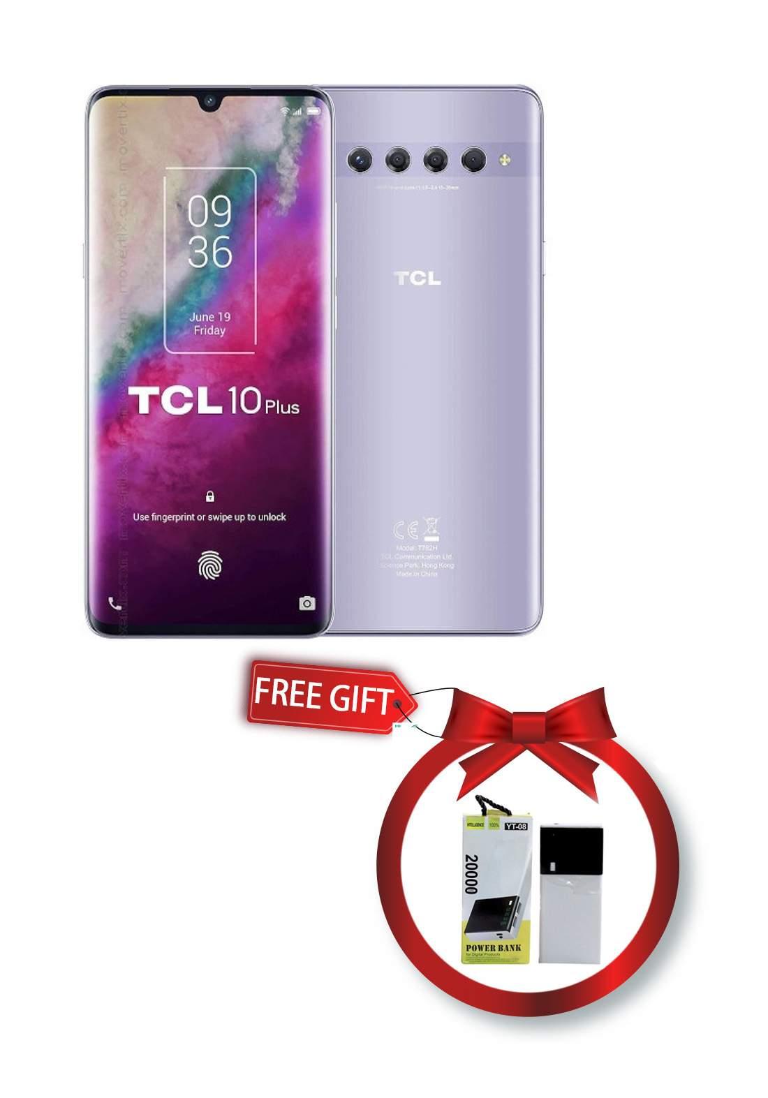 TCL 10 Plus - 6GB - 256GB - Dual Sim - Silver