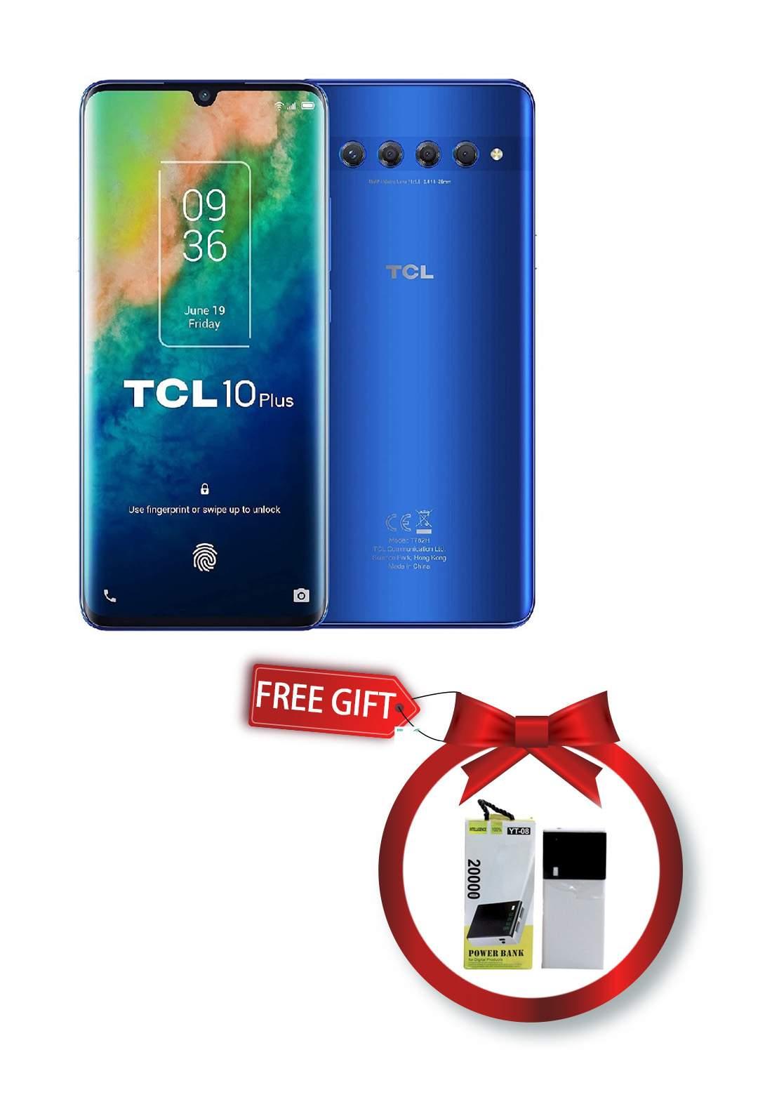 TCL 10 Plus - 6GB - 256GB - Dual Sim - Blue