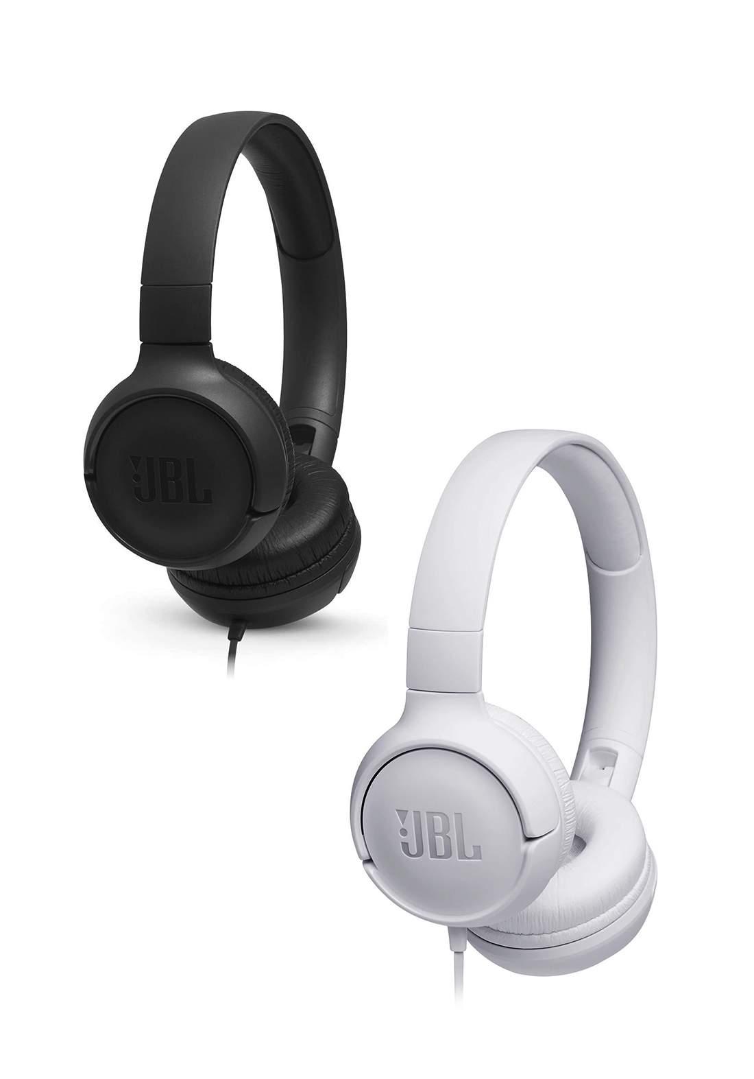 JBL TUNE 500 Wired Headphones سماعة سلكية