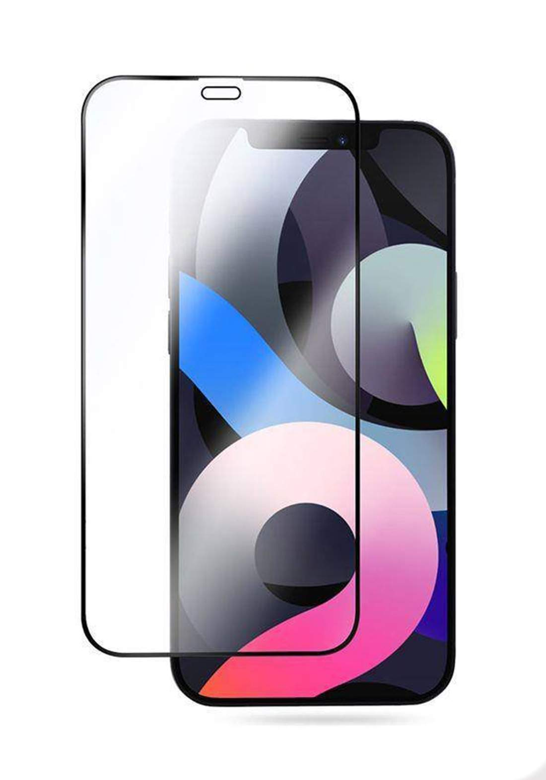 Hybrid Glass Screen Protector  for  iPhone 12 Pro Max  واقي شاشة