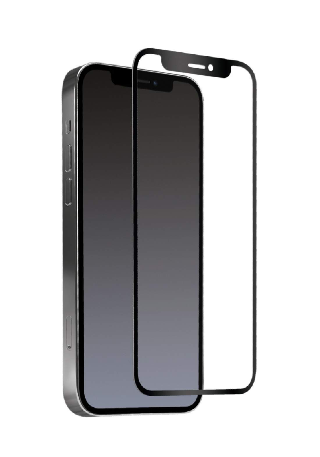 Hybrid Glass Screen Protector  for  iPhone 12 Pro  واقي شاشة