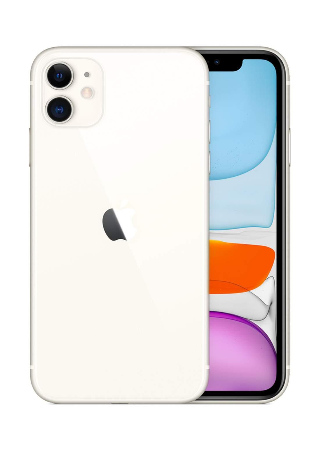 Apple iPhone 11 Single SIM 4GB RAM 128GB  - White