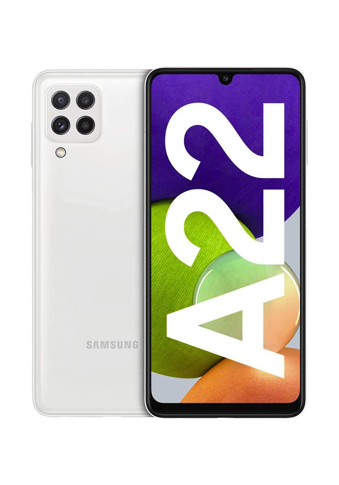 Samsung Galaxy A22 Dual SIM 4GB RAM 128GB - White