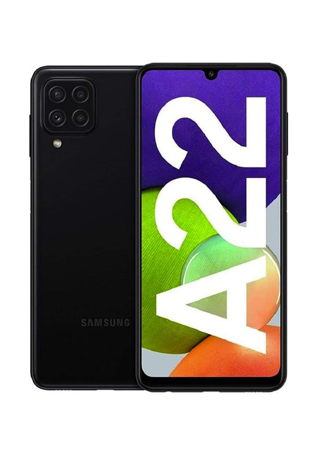 Samsung Galaxy A22 Dual SIM 4GB RAM 128GB - Black