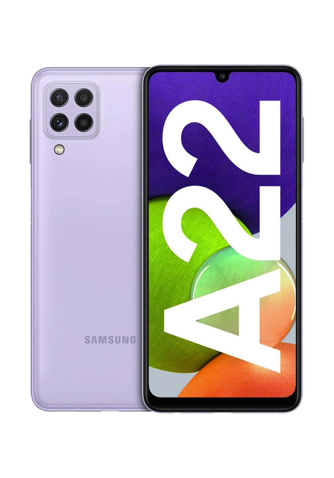 Samsung Galaxy A22 Dual SIM 4GB RAM 128GB - Violet