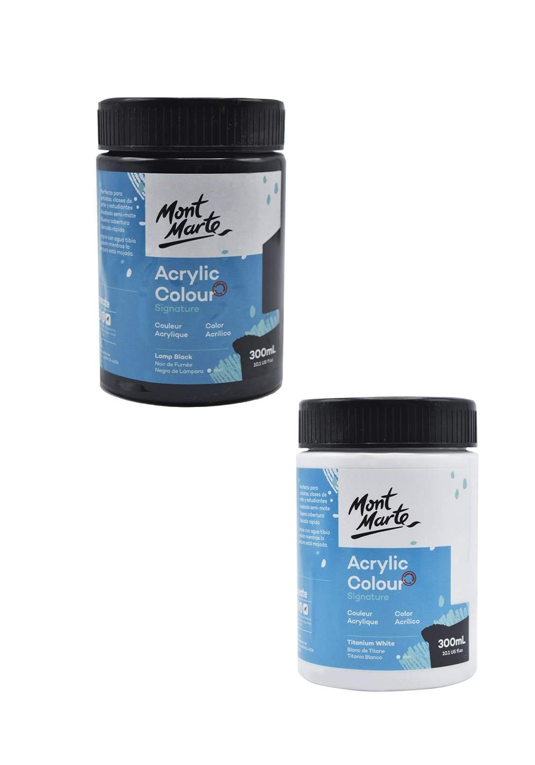 Mont Marte Signature Acrylic Colour 300ml علبة أكريليك