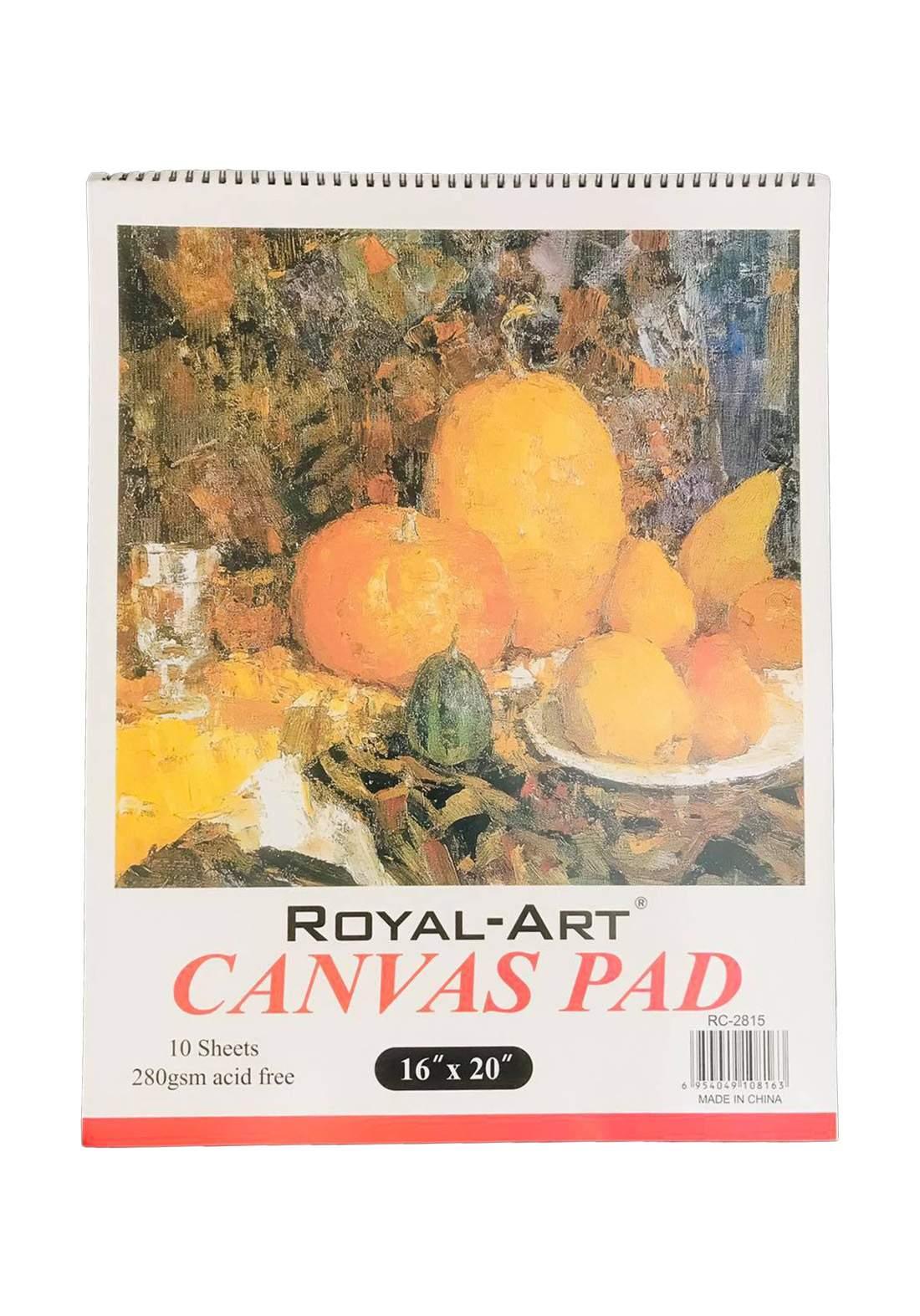 Royal Art RC-2815 Canvas Pad 10 Sheets A2 دفتر رسم