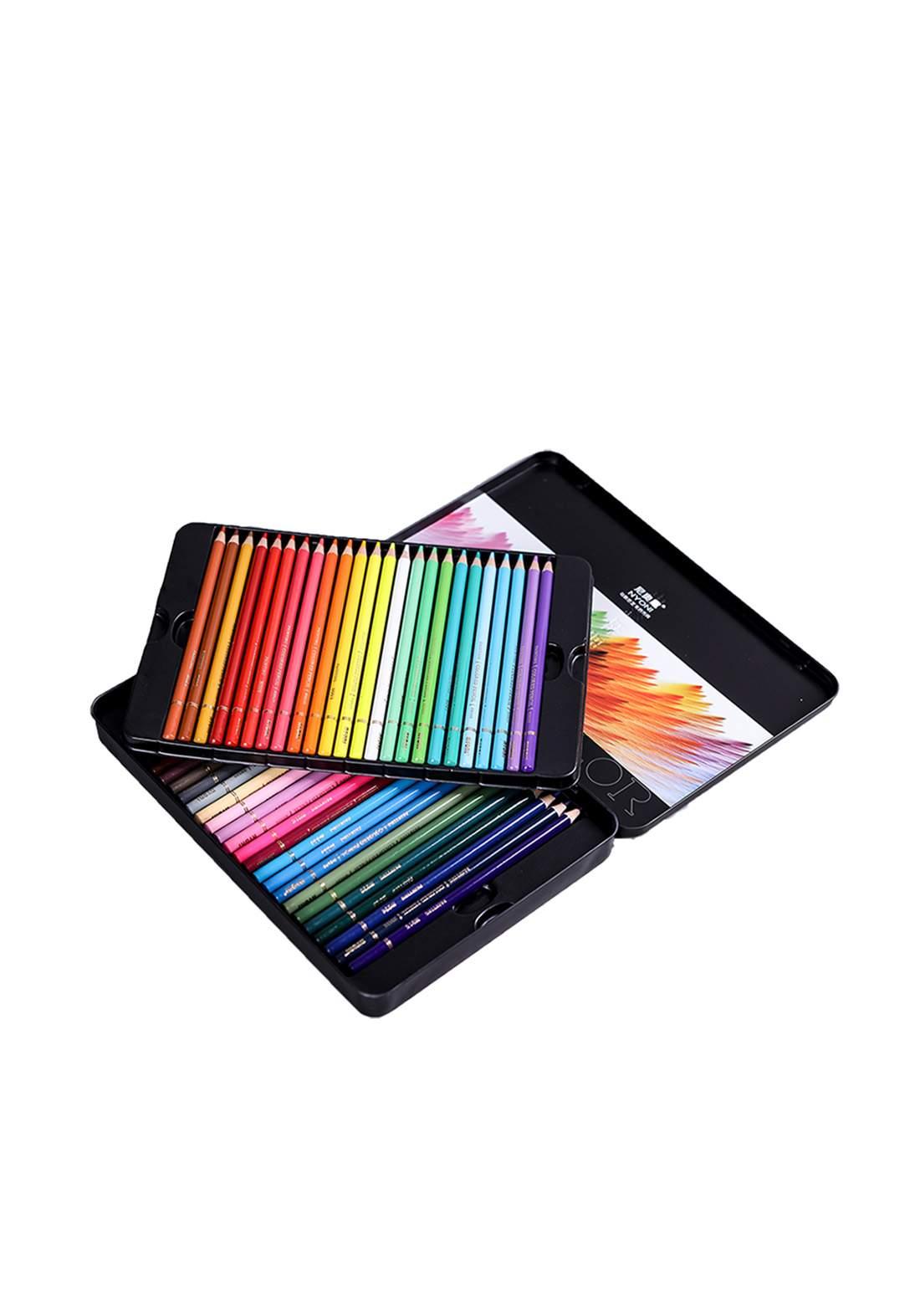 Nyoni Wood Colored Pencil Set 72Pcs اقلام تلوين خشبية