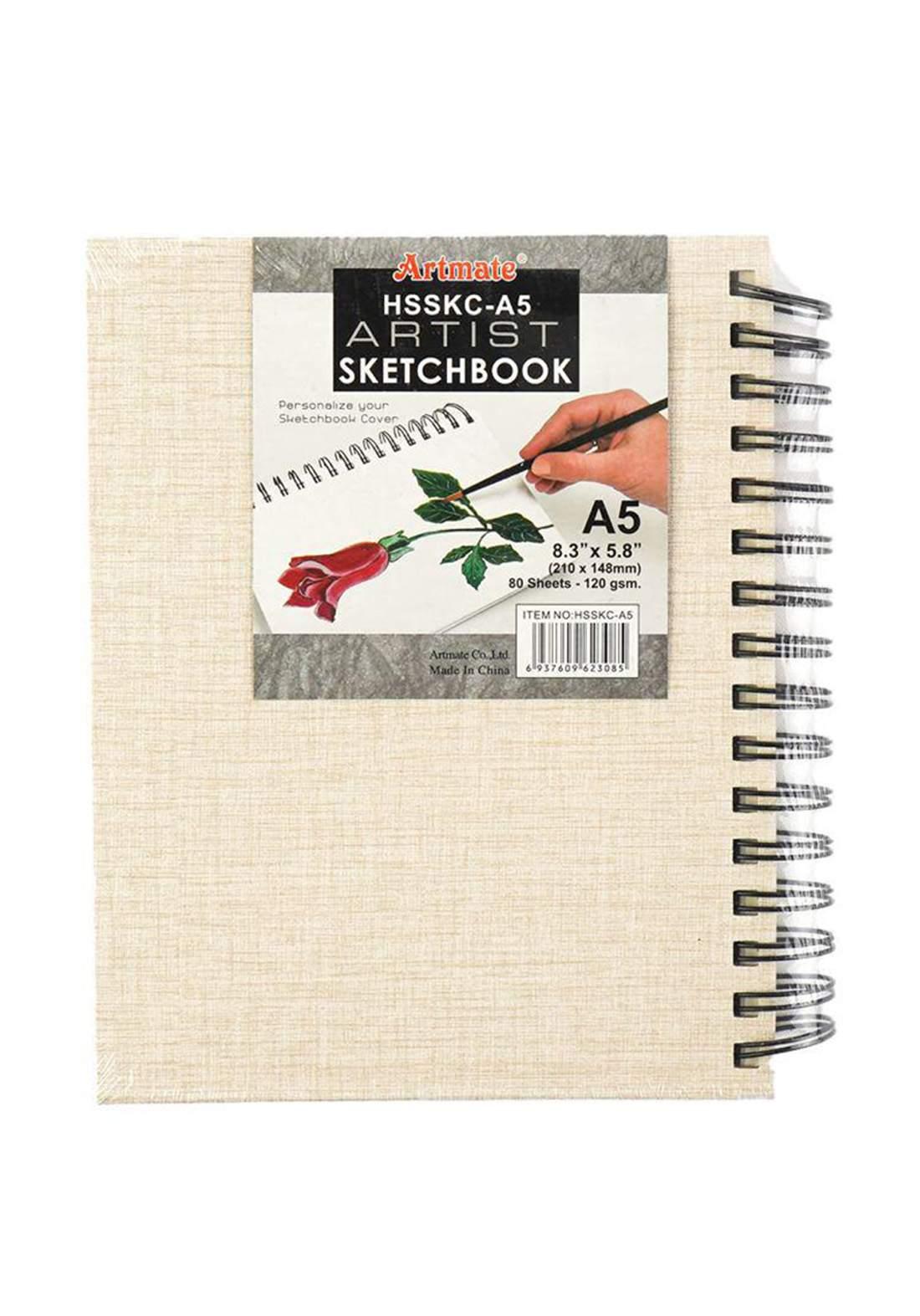 Artmat Sketch Book A5 دفتر رسم
