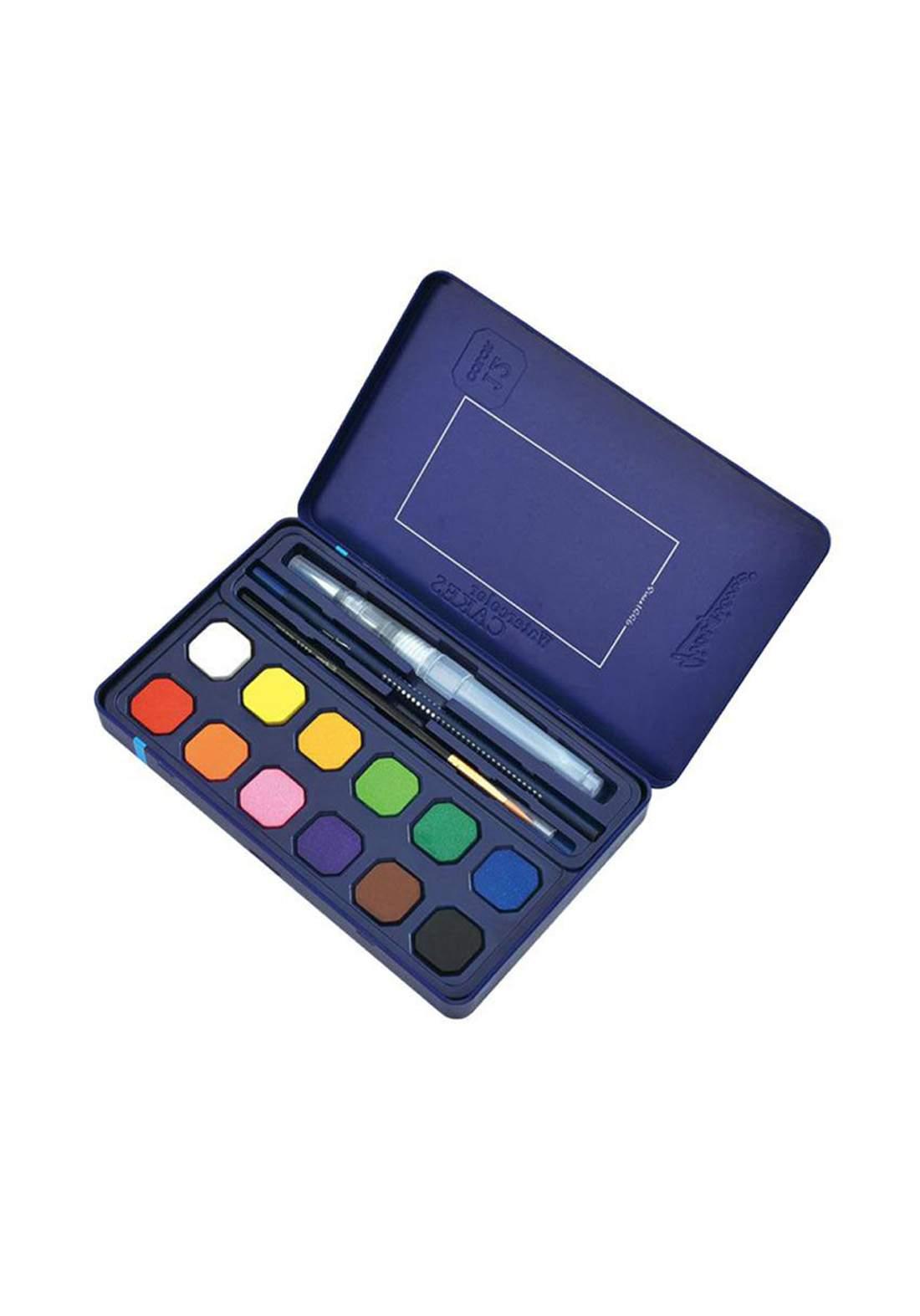 Giorgione Water Color Set 12 Pcs ألوان مائية