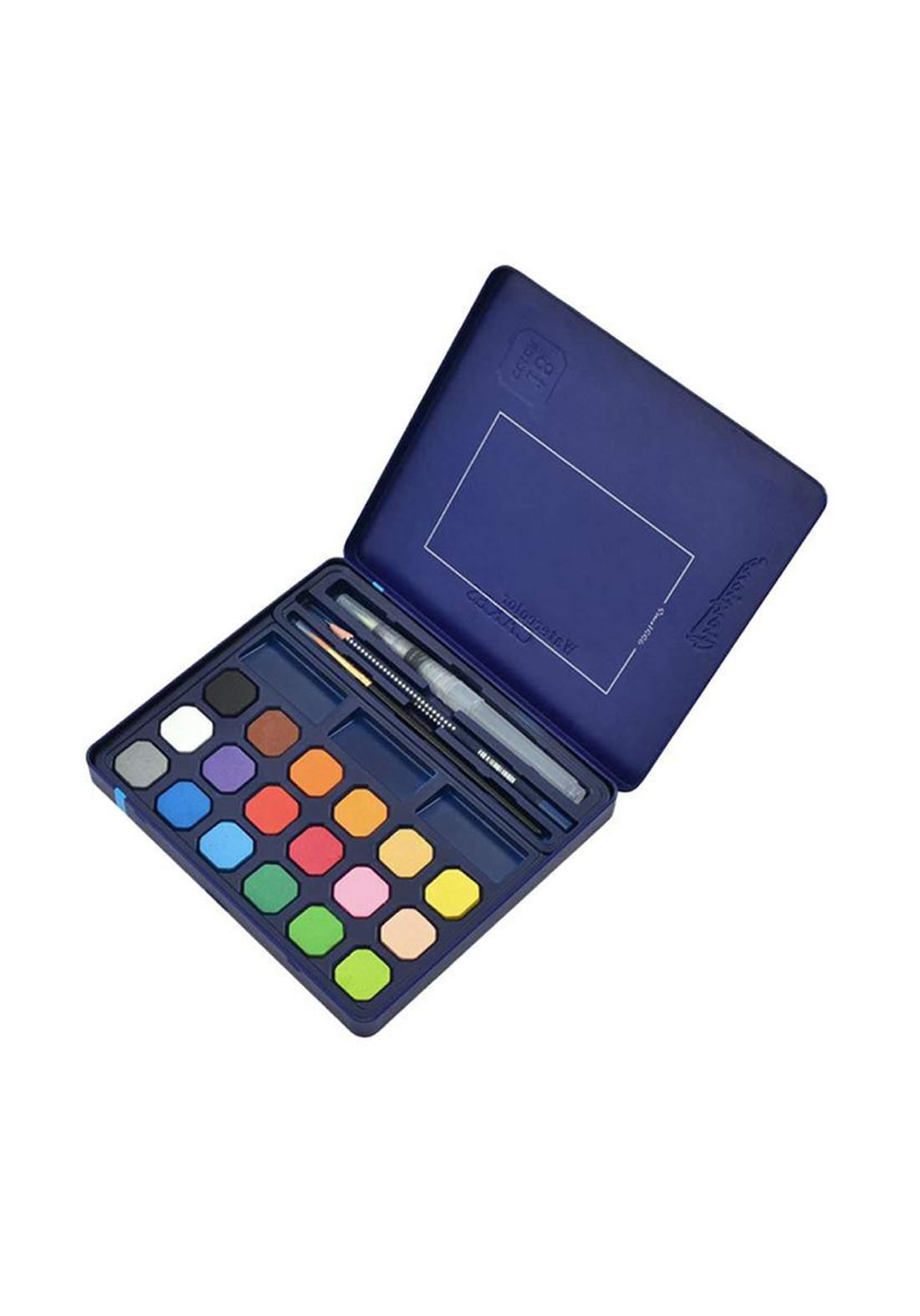Giorgione Water Color Set 18 Pcs ألوان مائية