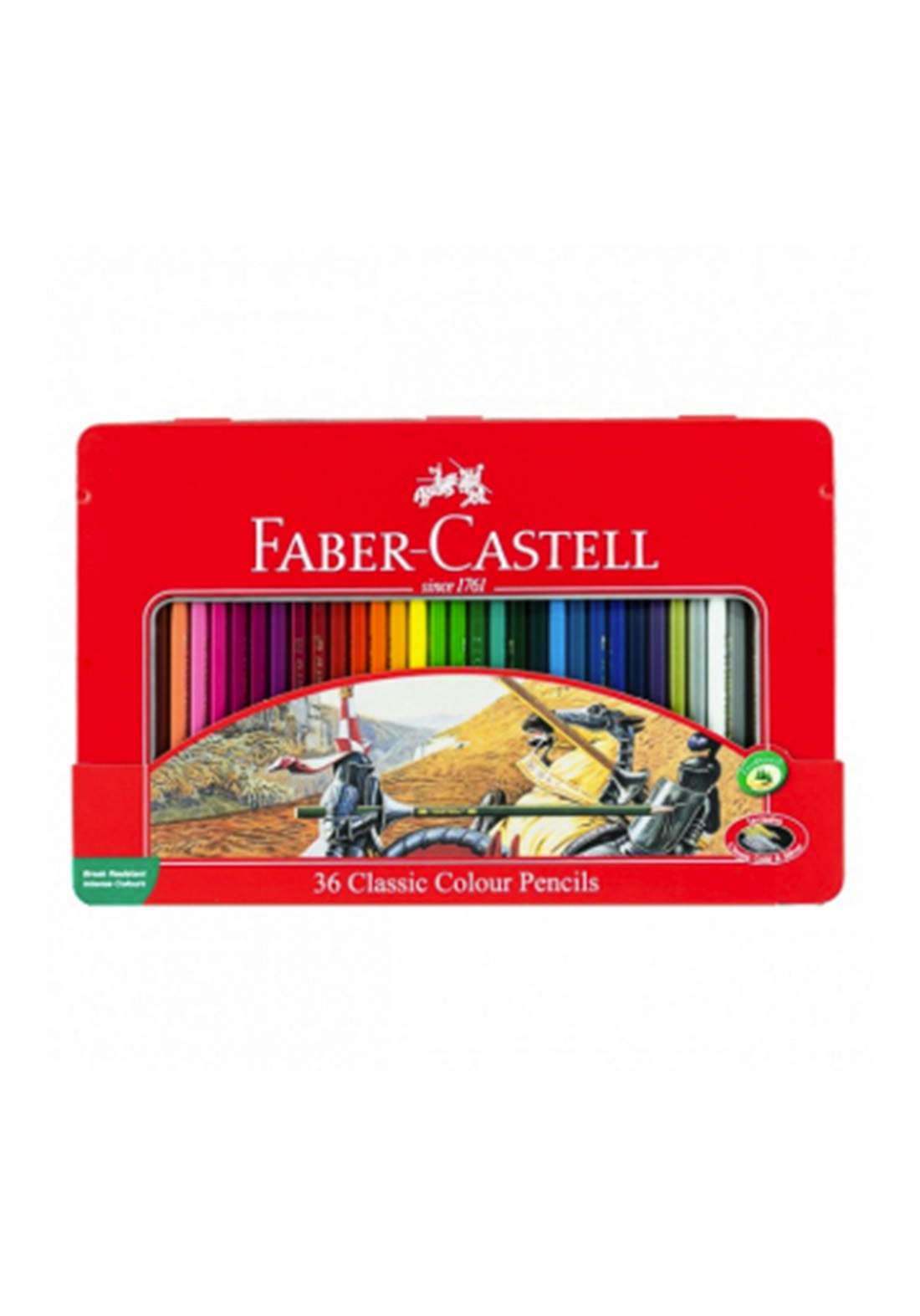 Faber Castell  36 Classic Colour Pencils اقلام تلوين خشبية 36 لون