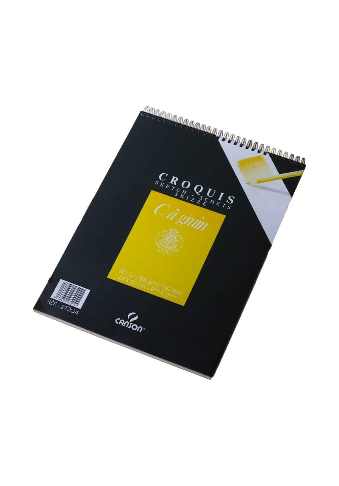 Canson Crouis Sketch دفتر رسم 30 ورقة