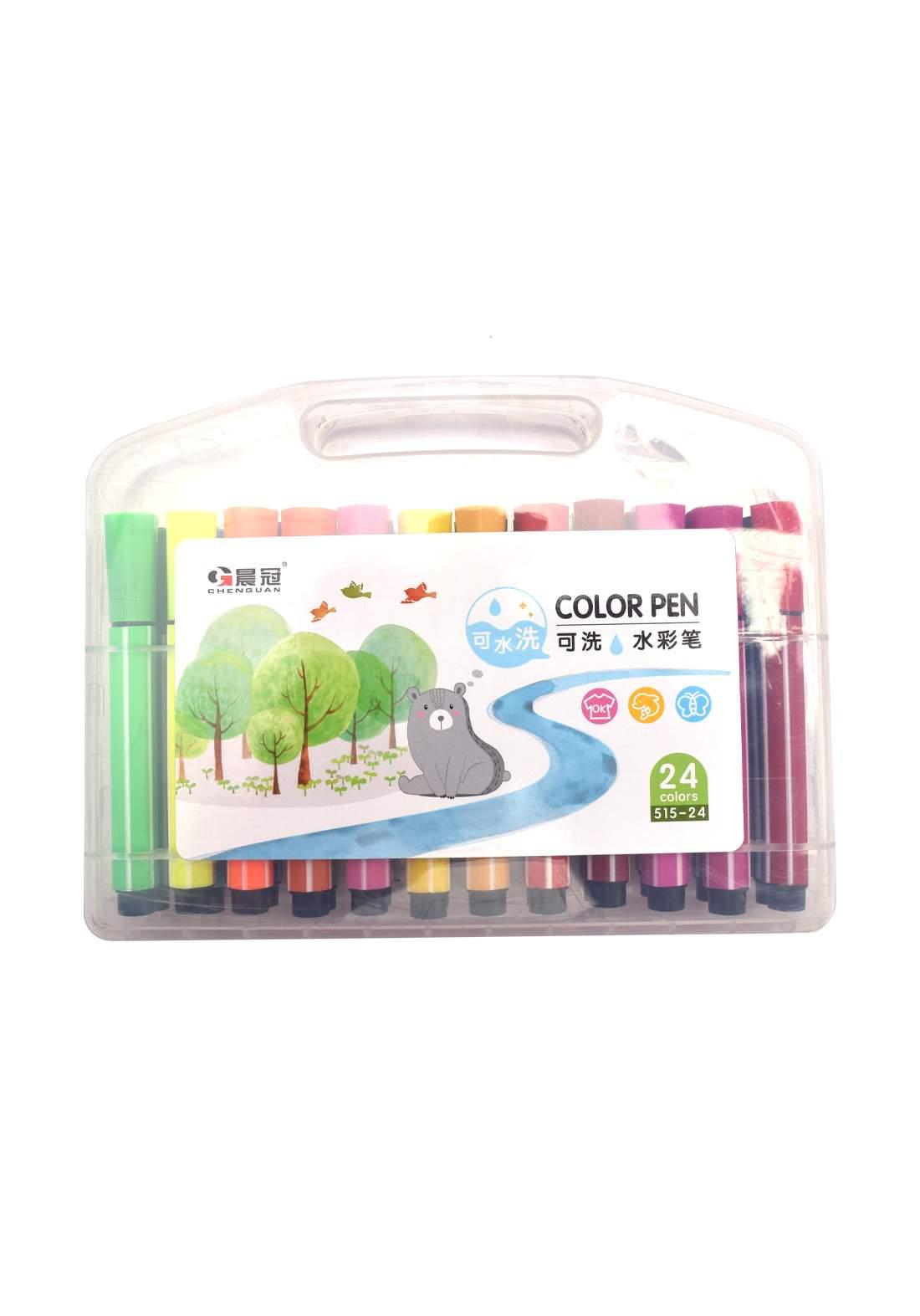 اقلام تلوين ماجك 24 لون Magic coloring pens