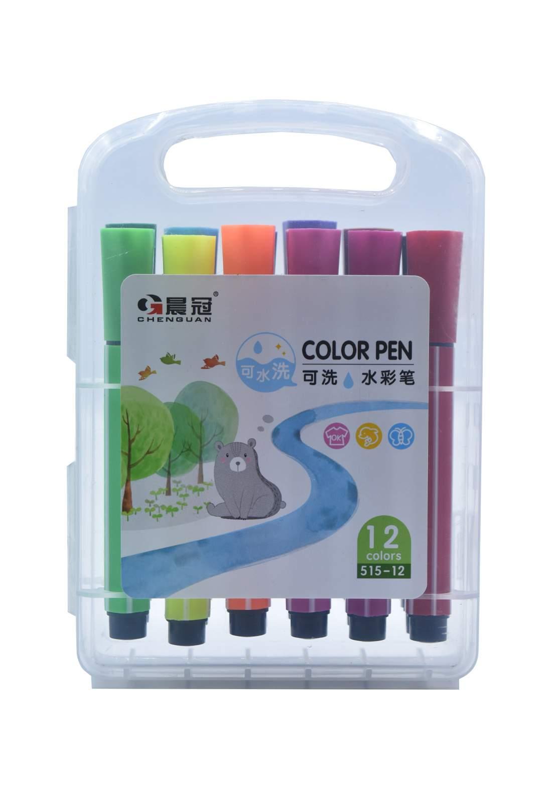 اقلام تلوين ماجك 12 لون Magic coloring pens