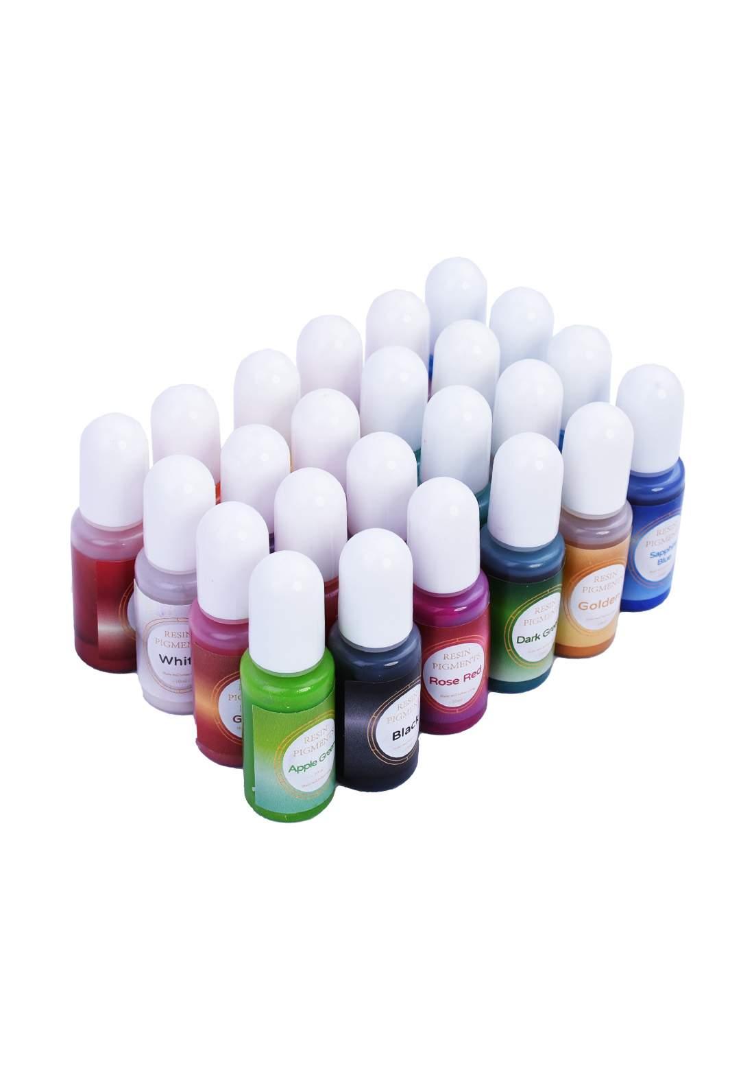 Epoxy Resin Pigment 24 color سيت اصباغ ايبوكسي