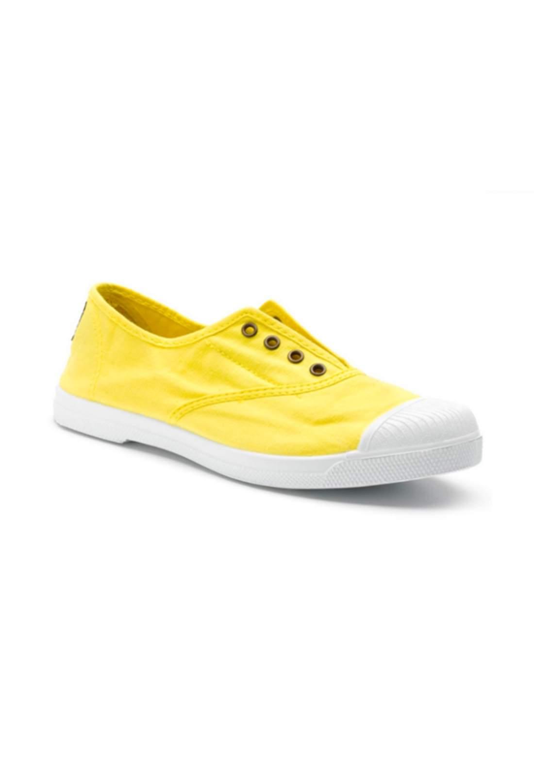حذاء نسائي كاجوال أصفر اللون من Natural World Eco