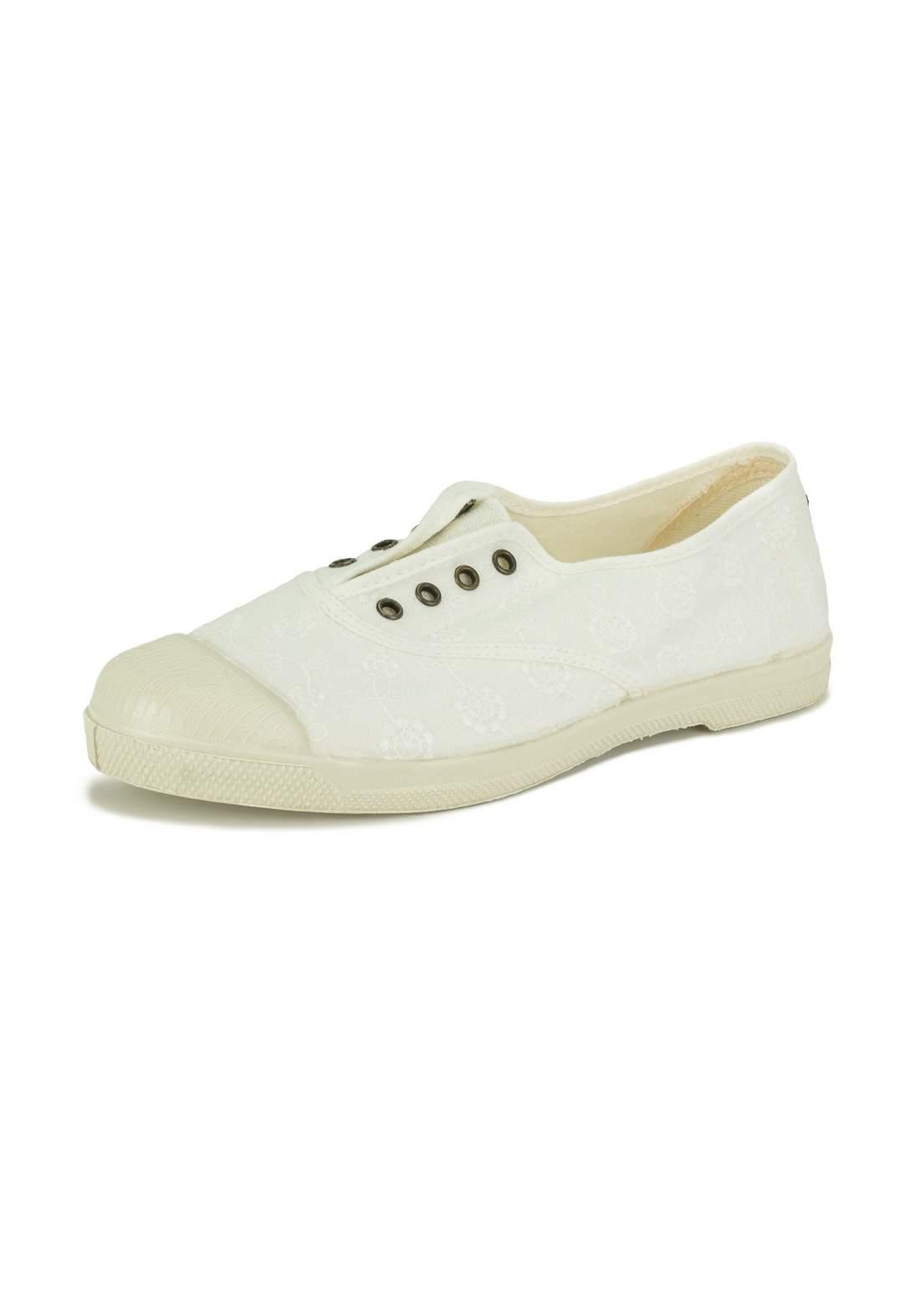 حذاء نسائي كاجوال أبيض اللون من Natural World Eco