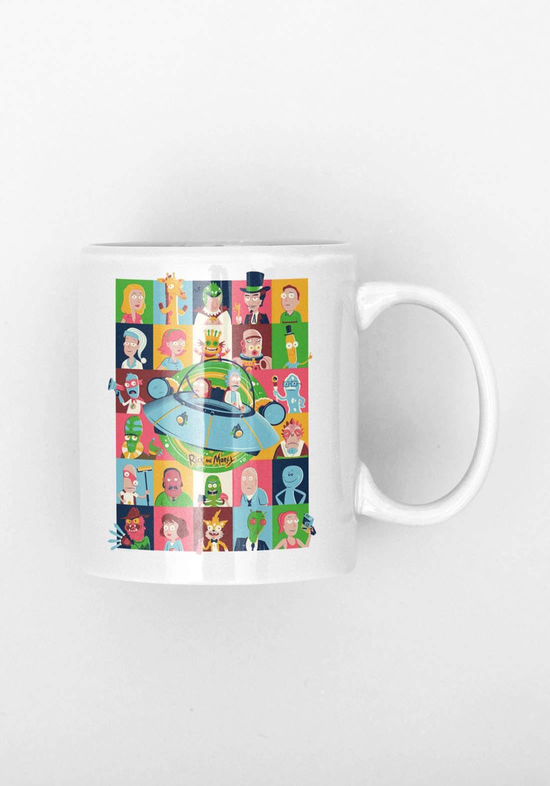 Rick & Morty Mug - كوب ريك اند مورتي
