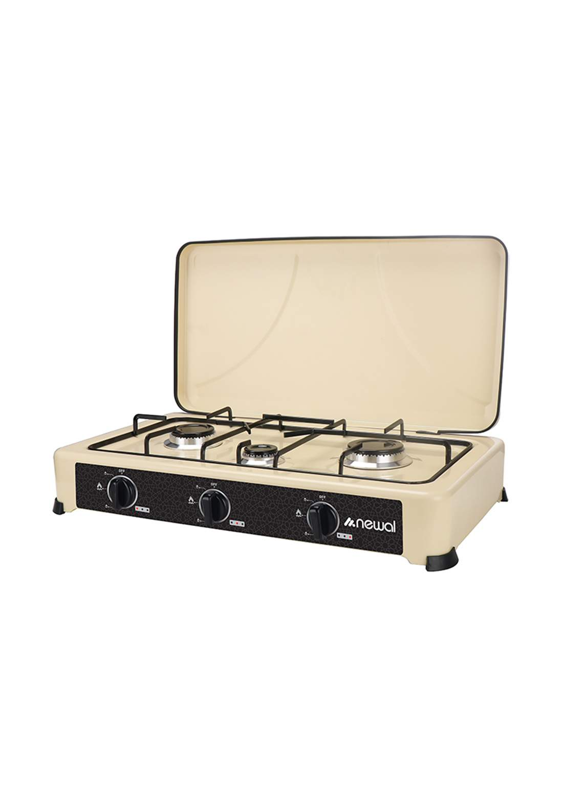 Newal Hob-203-04 Tabletop Cooker 3 Cooking Places  طباخ منضدي