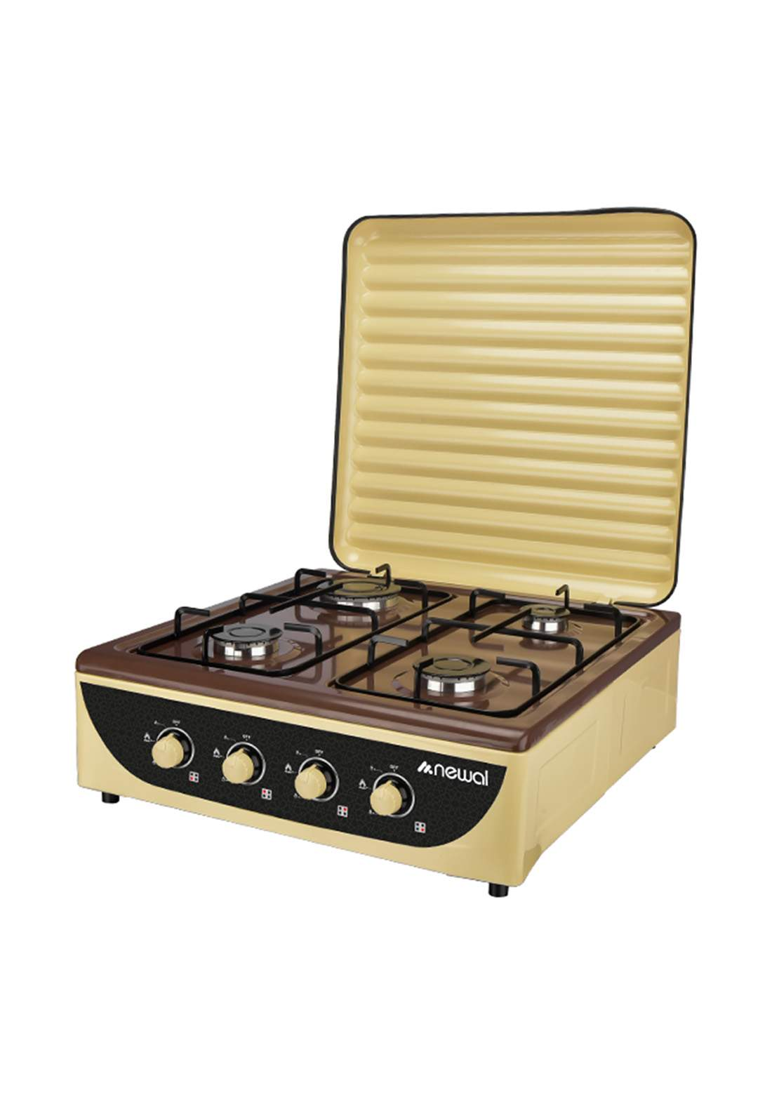 Newal Hob-236-04 Tabletop Cooker 4 Cooking Places  طباخ منضدي