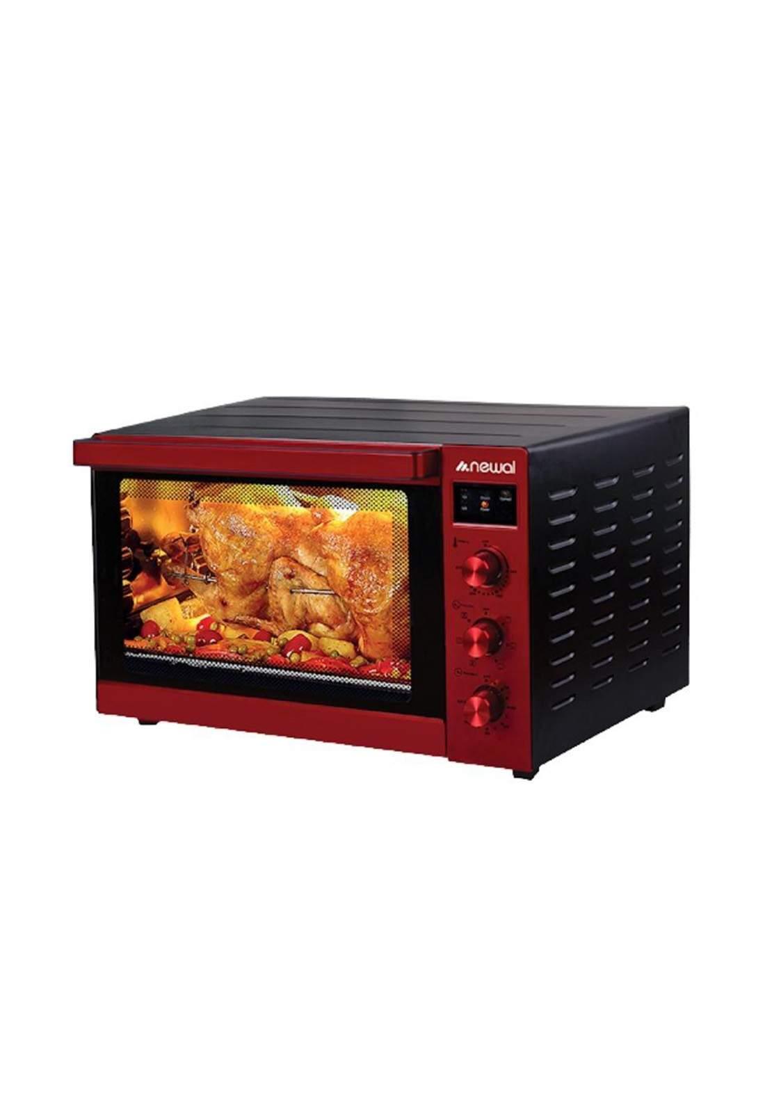 Newal Mini Oven 100L MOV-1175-03 - Red فرن كهربائي