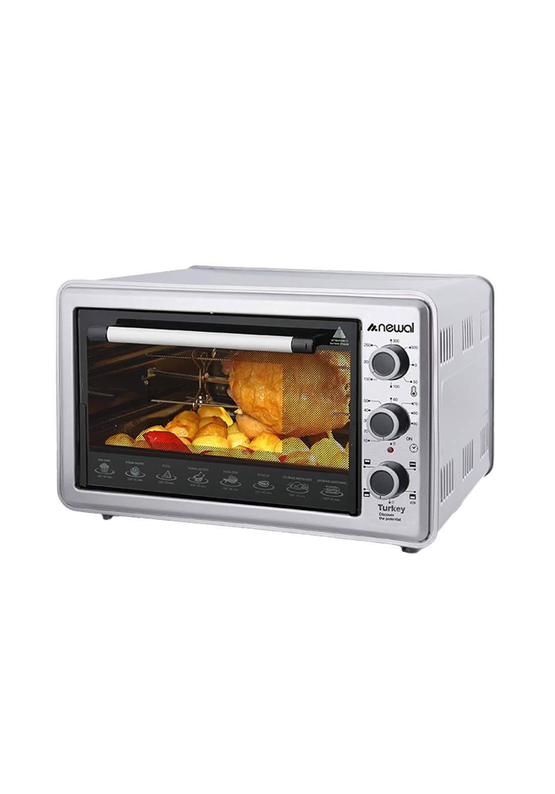 Newal Mini Oven 36L MOV-365-05 - Gray فرن كهربائي