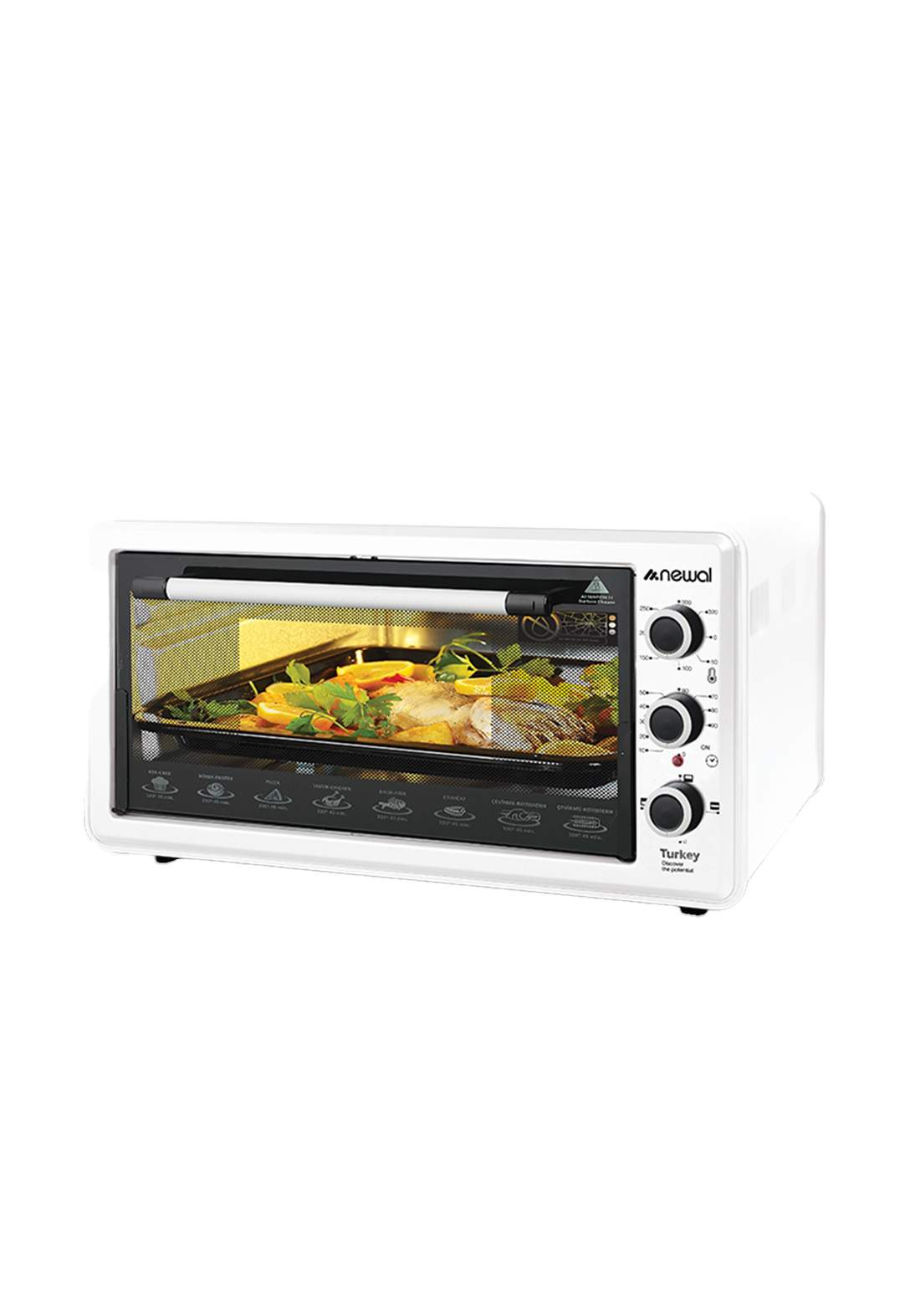 Newal Mini Oven 45L MOV-451-01 - White فرن كهربائي
