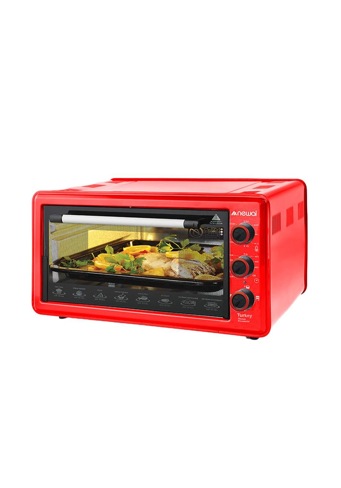 Newal Mini Oven 45L MOV-451-03 - Red فرن كهربائي