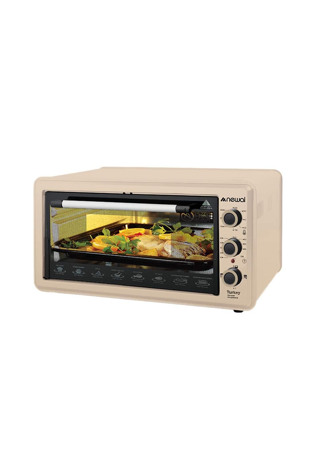 Newal Mini Oven 45L MOV-451-04 - Beige فرن كهربائي