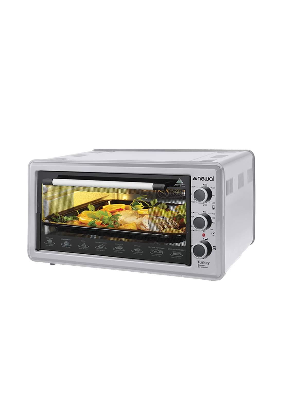Newal Mini Oven 45L MOV-451-05 - Gray فرن كهربائي