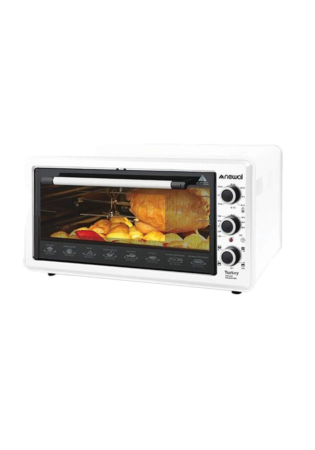Newal Mini Oven 45L MOV-456-01 - White فرن كهربائي