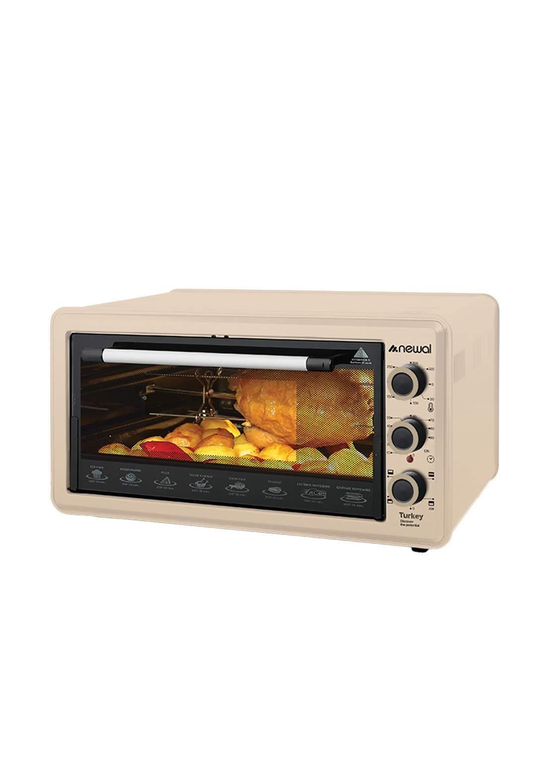 Newal Mini Oven 45L MOV-456-04 - Beige فرن كهربائي
