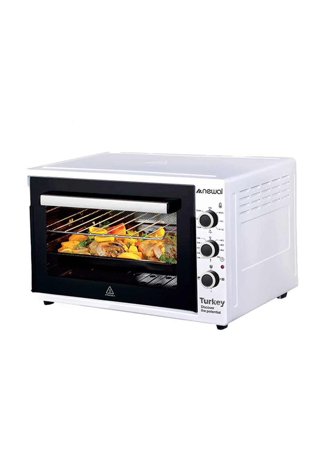 Newal Mini Oven 60L MOV-470-01 - White فرن كهربائي