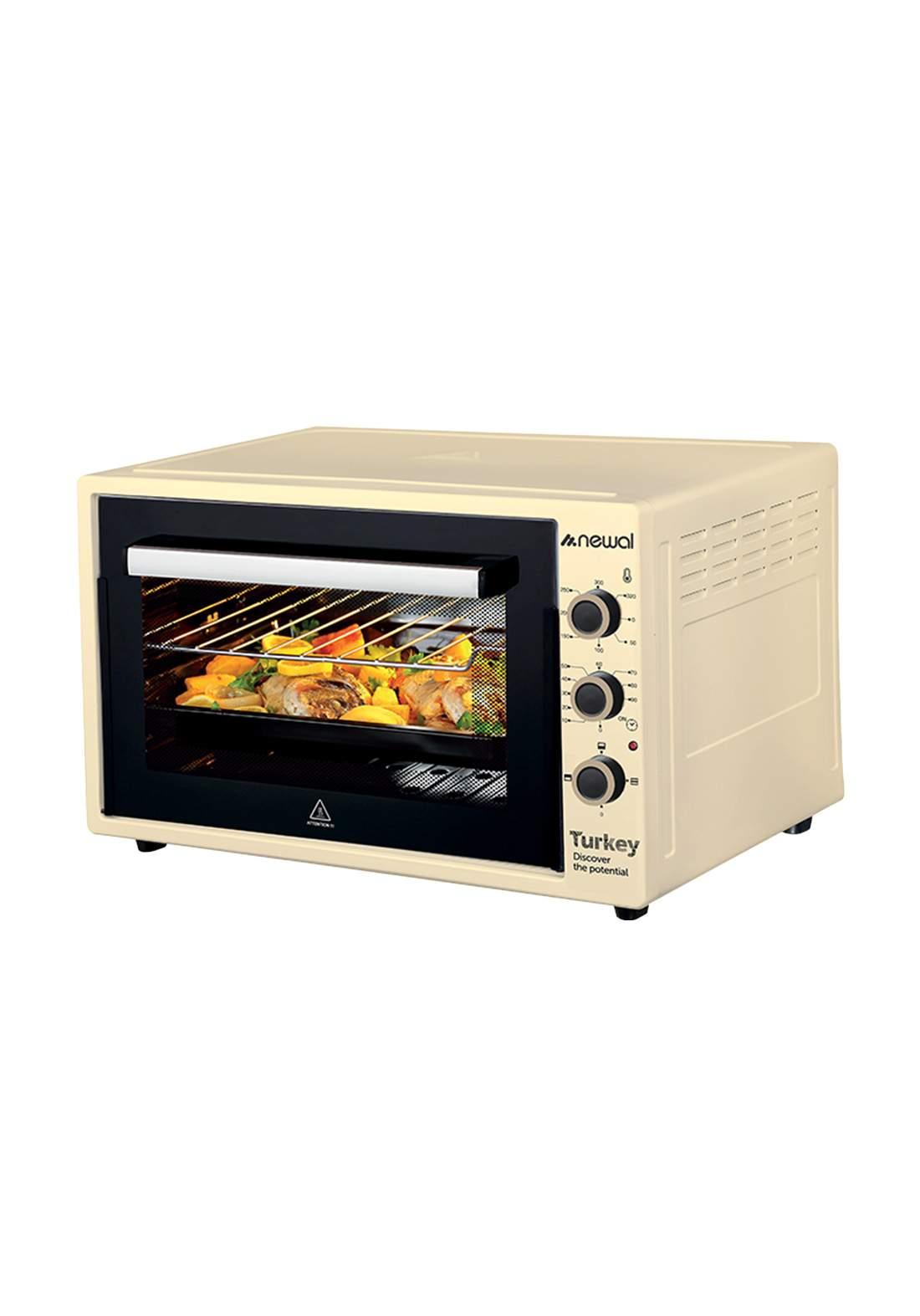 Newal Mini Oven 60L MOV-670-04 - Beige فرن كهربائي
