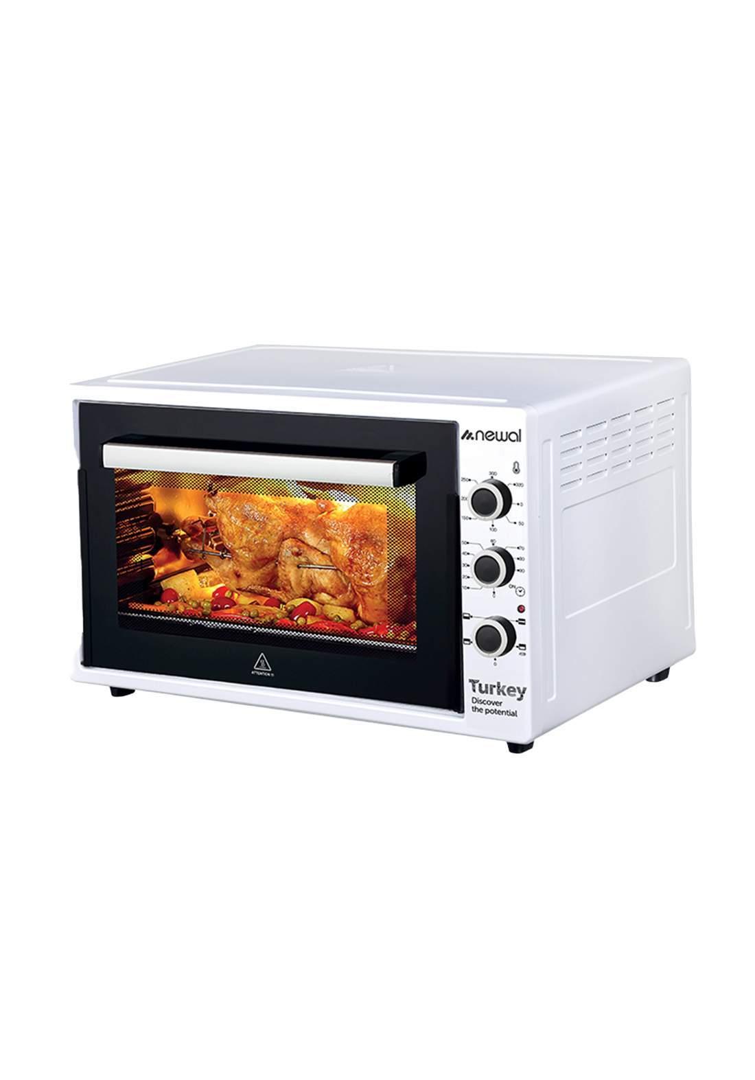 Newal Mini Oven 60L MOV-675-01 - White فرن كهربائي