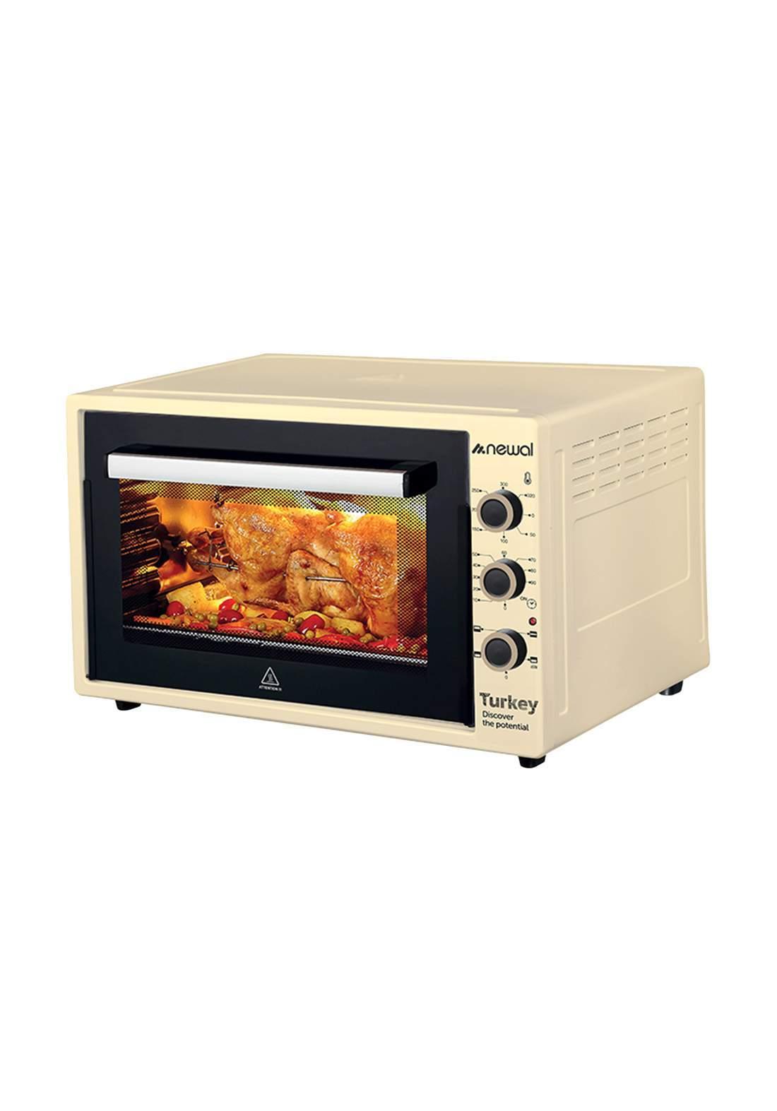 Newal Mini Oven 60L MOV-675-04 - Beige فرن كهربائي