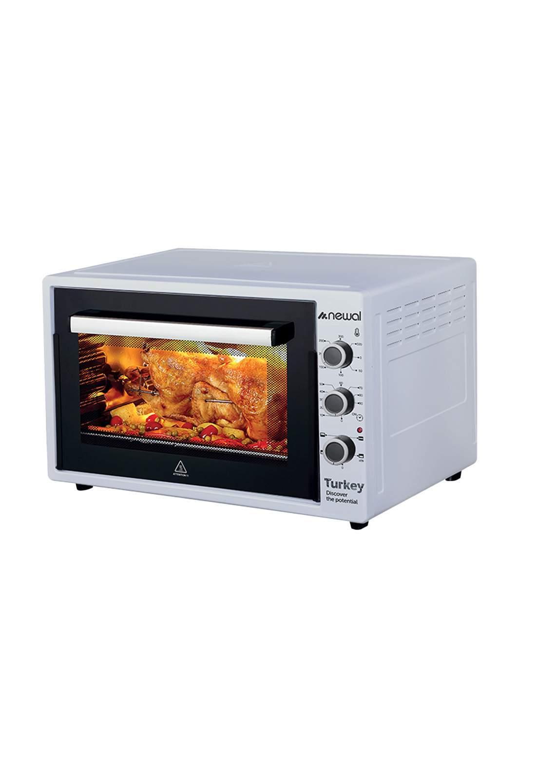 Newal Mini Oven 60L MOV-675-05 - Gray فرن كهربائي