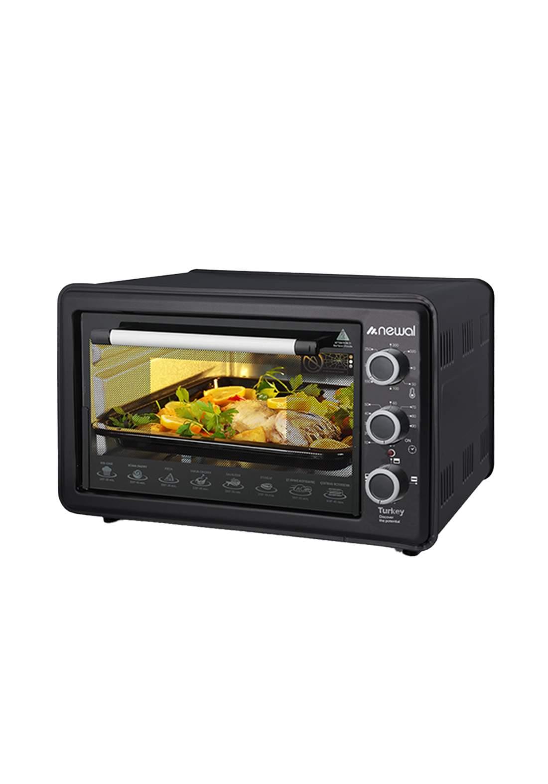 Newal Mini Oven 36L MOV-360-02 - Black فرن كهربائي