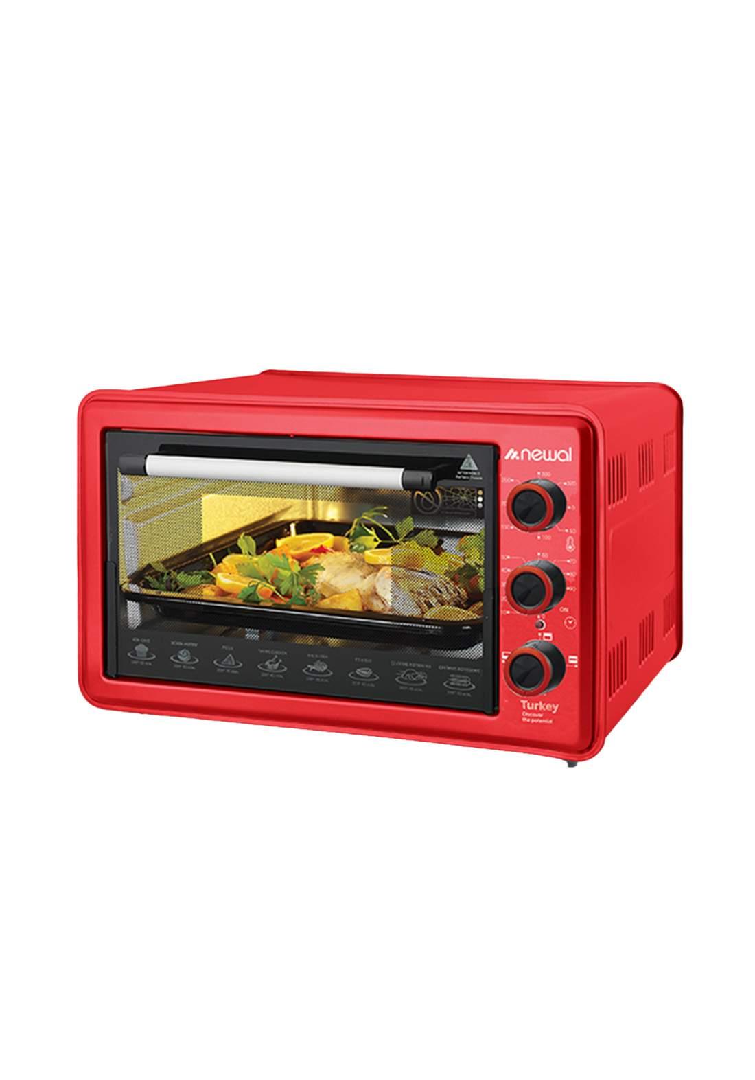 Newal Mini Oven 36L MOV-360-03 - Red فرن كهربائي