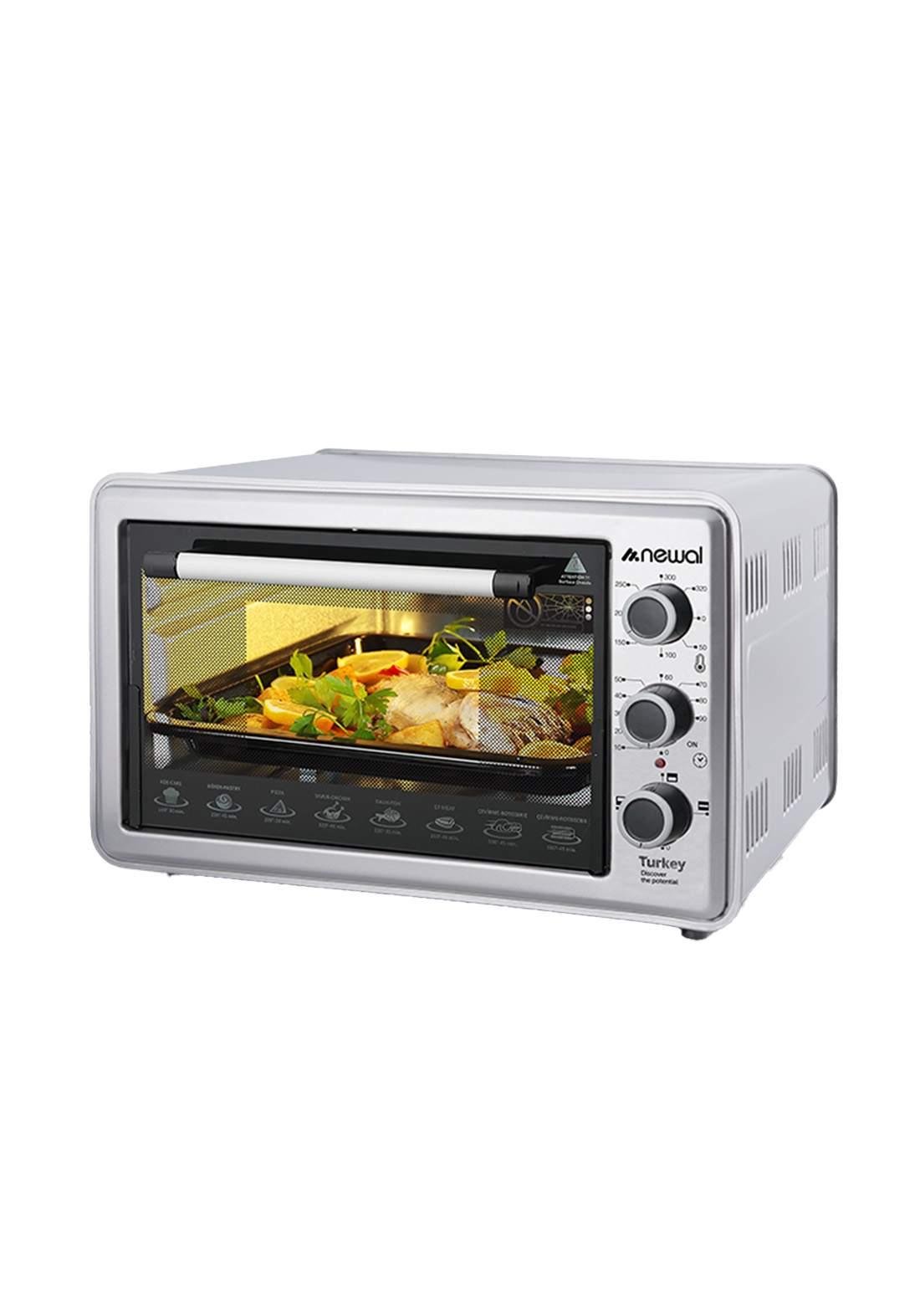 Newal Mini Oven 36L MOV-360-05 - Gray فرن كهربائي