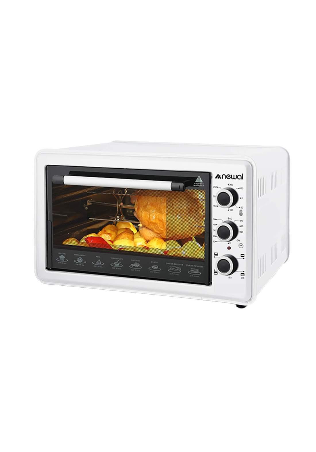 Newal Mini Oven 36L MOV-365-01 - White فرن كهربائي