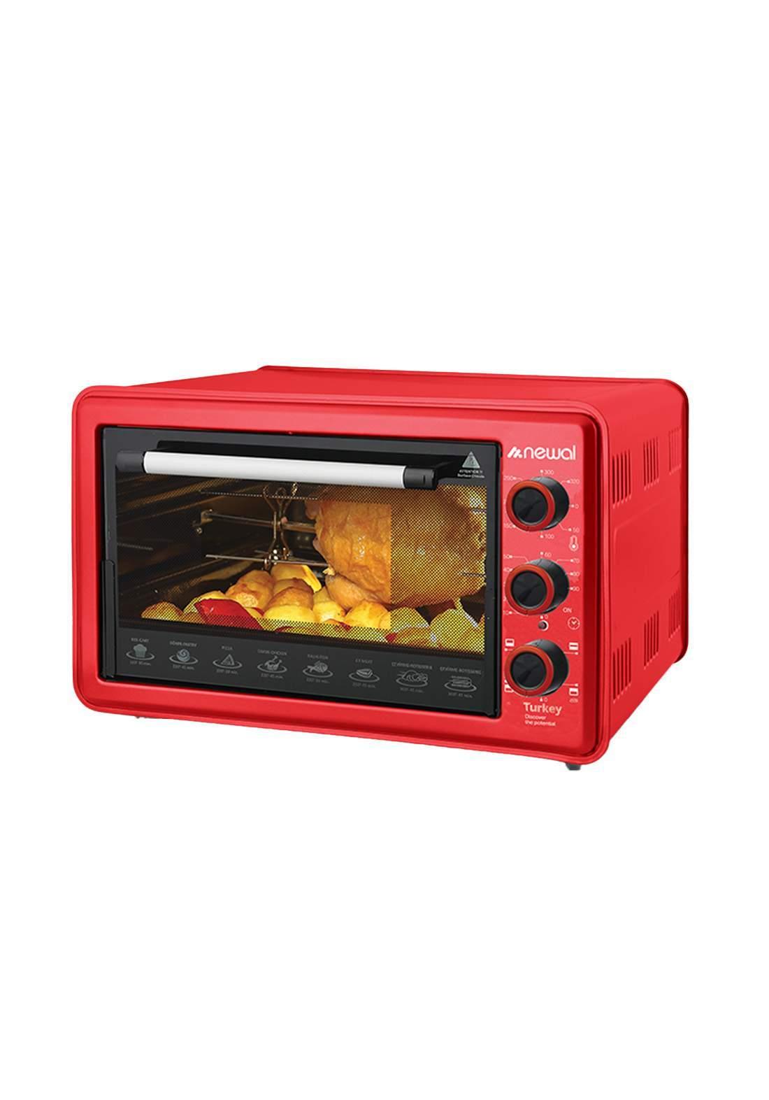 Newal Mini Oven 36L MOV-365-03 - Red فرن كهربائي