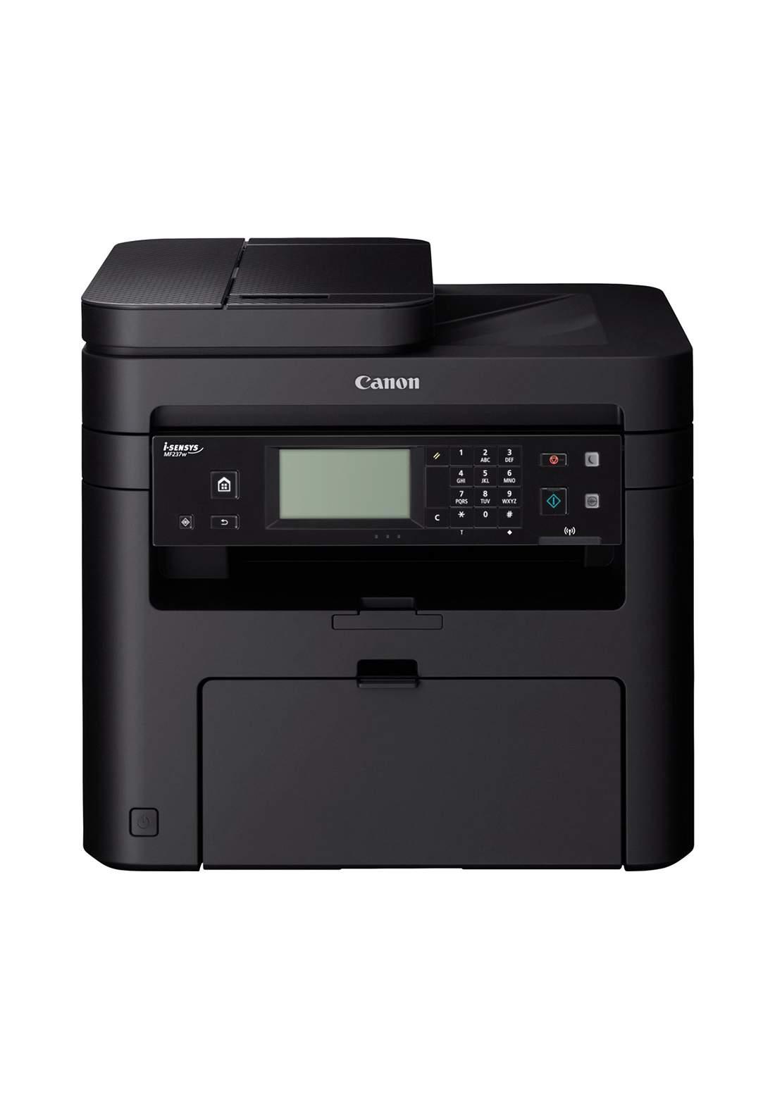 Canon MF237w Mono Laser Printer - Black طابعة