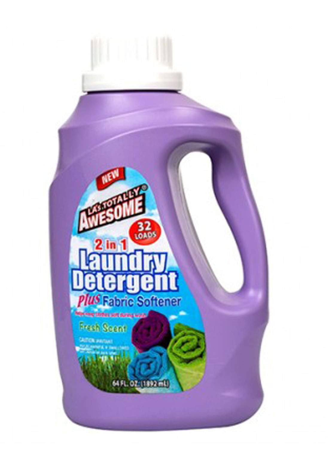 LA's Totally Awesome 2-In-1 Laundry Detergent With Softener 1.24 l منظف