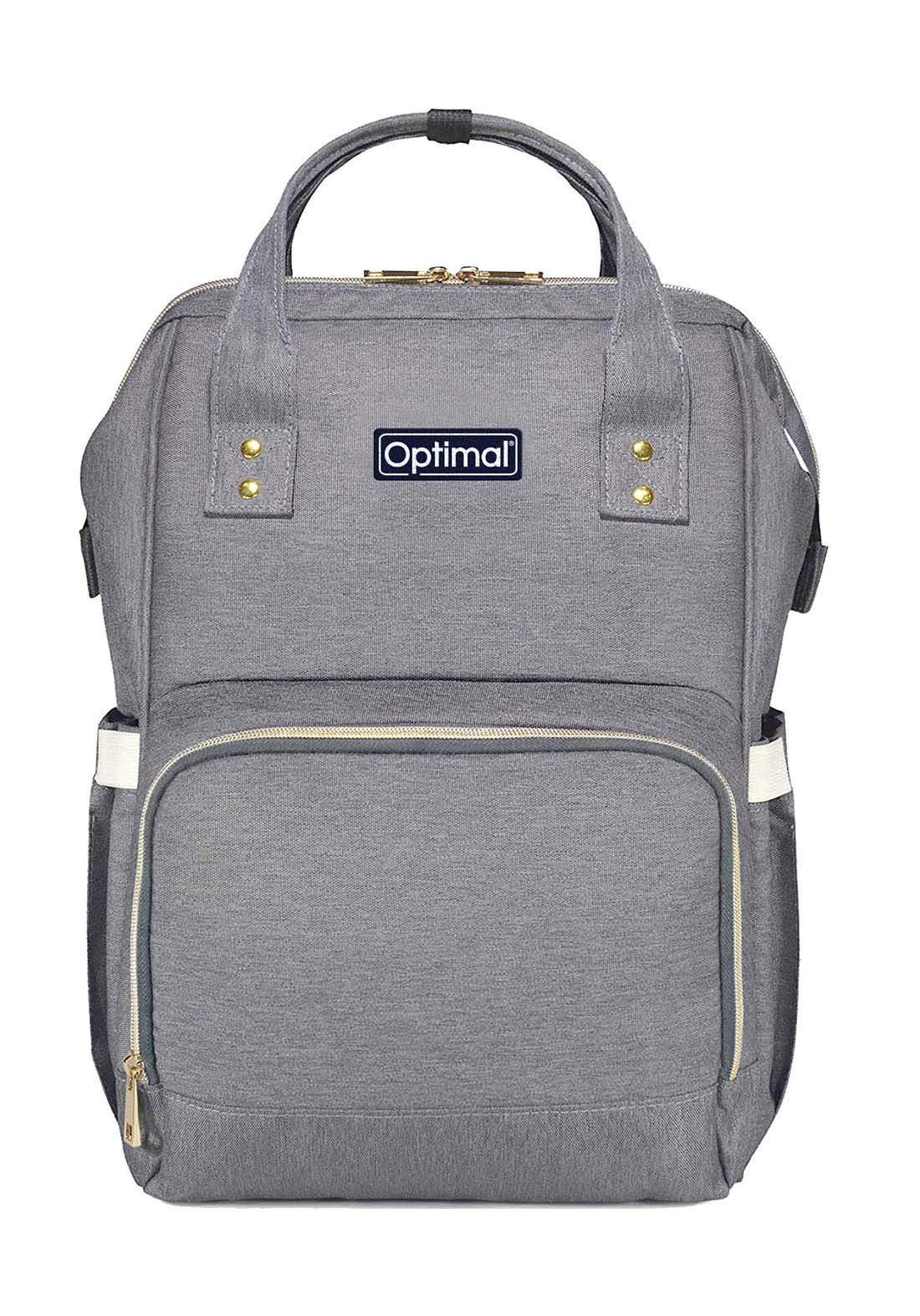 Optimal Mom And Baby Backpack حقيبة ظهر لمستلزمات الطفل والام