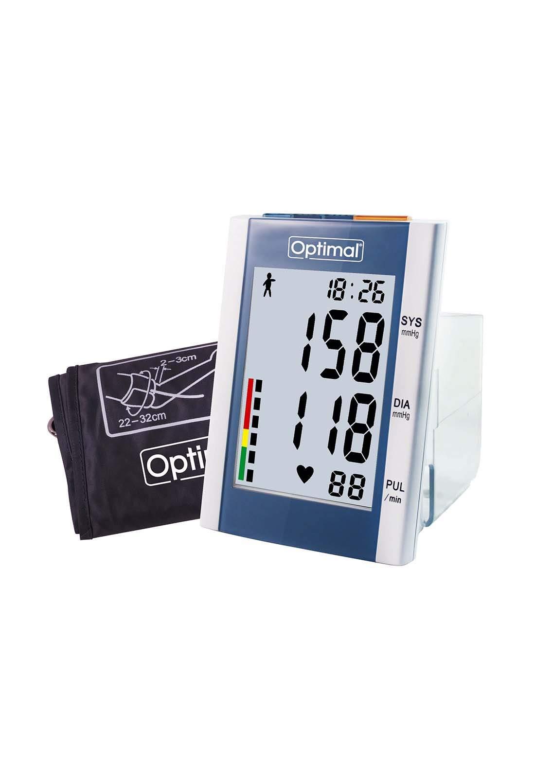 Optimal Arm Type Digital Blood Pressure Monitor  جهاز قياس ضغط الدم الرقمي للذراع